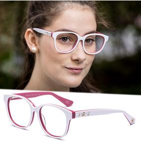 Armação Oculos Grau Feminino Importado Gc20 Acetato Original