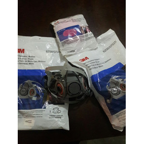 Mascarilla Respirador 6200 3m Filtros Includos!!
