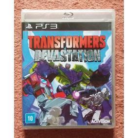 Ps3 - Transformers Devastation - Midia Fisica