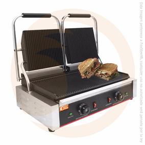 Plancha Panini Doble Sandwichera Industrial Migsa Fb-bn813