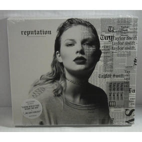 Cd Taylor Swift Reputation - Lacrado Fabrica Com Luva