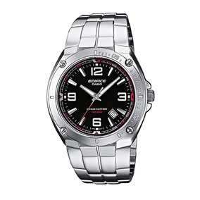 bdd9c5a6893 Relógio Casio Edifice Ef 126 Branco Todo Aço Calend Ef126 - Relógios ...