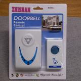 Campainha Sem Fio Doorbell 32 Melodias 7 Leds Azuis Bivolt