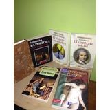 Libros Filosofía, Nietzsche, Aristóteles, Ruosseau, Y Sade.