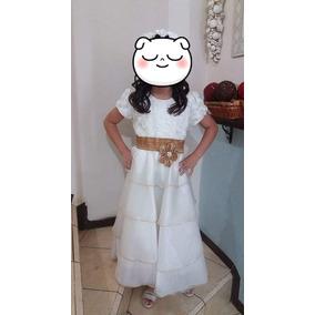Vestido Confirmacion Talla 8