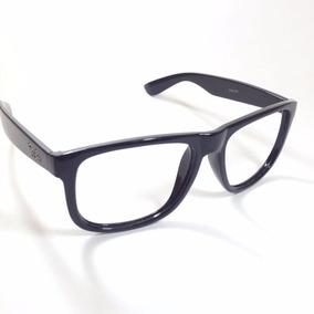 Armação Oakley Óculos De Grau Quadrado Preto Barat Brilhante