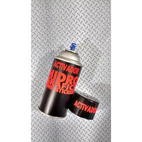 Pelicula Hidrografica Metal Antiderrapante Peq Kit Promoción