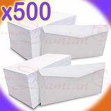 Sobre Oficio Ingles 80gr Extra Blancos 12 X 23,5cm Caja X500