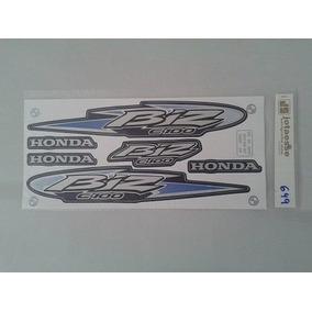 Faixa/adesivo Completo Honda Biz100 Ks Ano 2005 Varias Cores