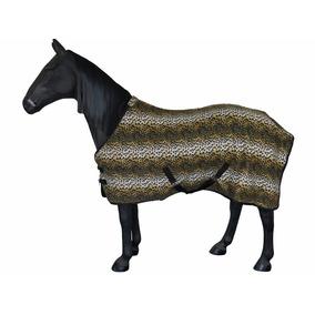 Camisa Para Caballo, Estampado Leopardo, Importada