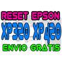 Reset Oficial Epson Xp320 Xp420 Xp424 - Repara Almohadilla