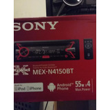Estéreo Sony Mex-n4150 Con Bluetooth Usb Aux Mp3 Cd Am Fm
