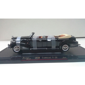 Serie Carros Presidenciales.cadillac V16 1938.1/24 Yat Ming.