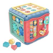 Juguete Didáctico Multifuncional Cubo Bebes Montessori