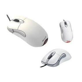 Mouse Microsoft Intelimouse 1.1 Branco Usb 5 Botões Original