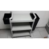 Carro Servicio Pantry Fibra C/ Ruedas 3 P Y Env Recolec