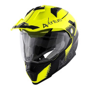 Casco Kappa Adventure Kv30 Cross Doble Visor Moto Delta