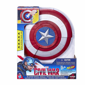 Escudo Captain Capitan America Civil War Marvel Hasbro Nerf