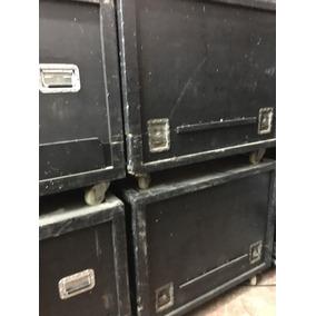 Kit Com 2 Caixas De Monitor Sm400 Com Case