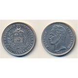 Monedas De Níquel 1973 ( Bs.5) República De Venezuela