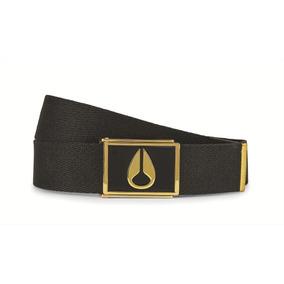 Cinturón Nixon Black/gold Enamel Wings Belt M