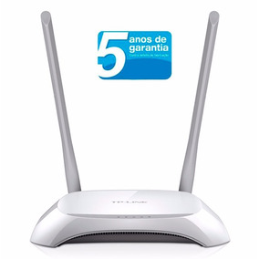 Roteador Wireless 300mbps 2 Antenas Tp-link Tl-wr840n