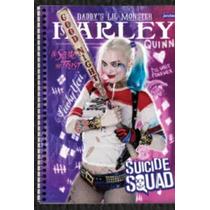 Caderno 10 Matérias Esquadrão Suicida(capa Dura)