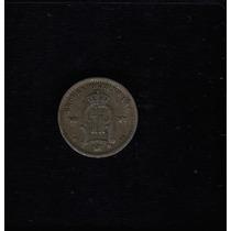 Moeda Suecia 25 Ore 1899 -eb- Prata
