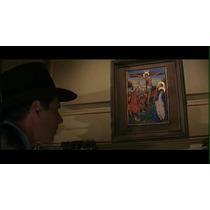 Indiana Jones Medieval Painting 42,7 X 52,8. Replica.-