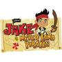Mega Kit Imprimible +música Jake Y Los Piratas De Nuncajamas