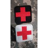 Parche Tactico Cruz Roja Militar Policia Paramedico