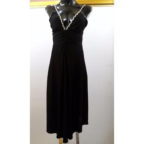 Vestido Marca Bebe Talla S Negro