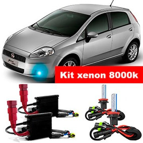 Kit Xenon H1 8000k Para Farol Milha Punto 2007 A 2015