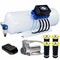 Kit Ar 10mm-nova Válvula+compressor Premium- Monza