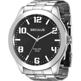 Relógio Seculus Masculino Long Life 28819g0svna1