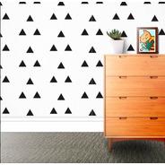 Adesivo Decorativo Triângulo (com 36 Unidades)