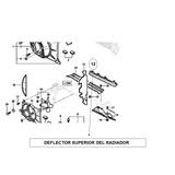 Deflector Superior De Radiador Corsa Classic 1998 / 2008