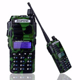 Radio De Doble Banda Baofeng Uv-82 Vhf/uhf Camuflage