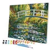 Pintura Numerada Ponte Japonesa - Coleção Monet_p2