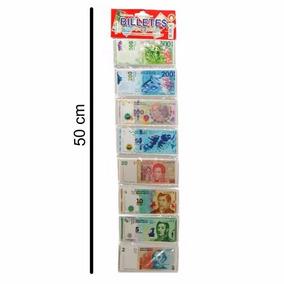 Billetes De Juguete X 80 - Oferta - 08638