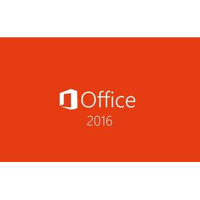 Office 2016 Profesional Plus 1 Pc Serial Unico Individual