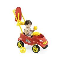 Carrinho Passeio P/bebê Baby Car Vermelho
