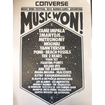 Poster Music Wins 2014