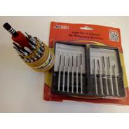 Kit Ferramentas Mini Chave D Fenda Torx+kit Relojoeiro 8 Pçs