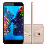 Celular Quantum Muv Q5 Dual | 16gb Memoria Anatel Dourado