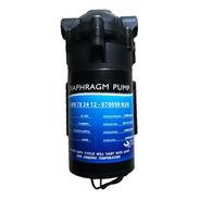 Bomba Impulsión Diafragma 100gpd Osmosis Inversa Filtro Agua