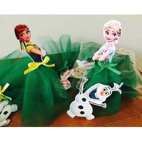Frozen Fever 90 Bustos Anna Elsa E Olaf Frozen 2 Em 7,5cm N