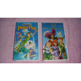 Peter Pan Y El Regreso Al País De Nunca Jamas Películas Vhs