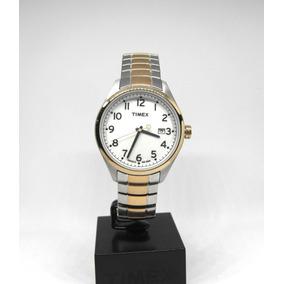 cbc734006780 Reloj Timex Indiglo Acero Negro Hombre - Reloj de Pulsera en Mercado ...