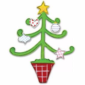 scrapbook suaje de sizzix arbol de navidad c